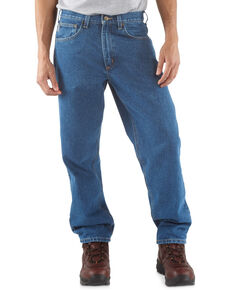 Carhartt Men's Relaxed Fit Jeans, Stonewash, hi-res