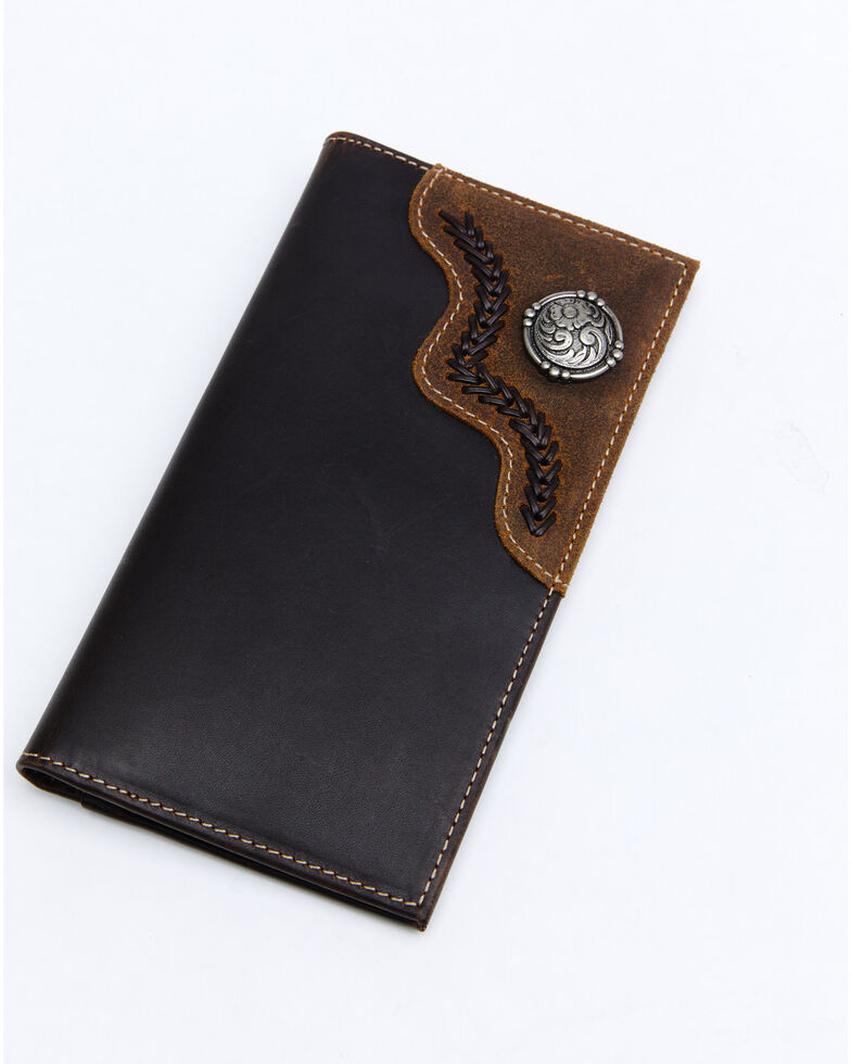 Cody James Men's Rodeo Wallet, Brown, hi-res