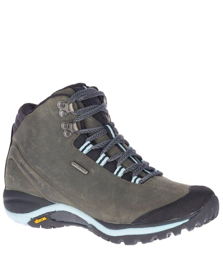 Merrell Women's Siren Traveller 3 Waterproof Hiking Boots - Soft Toe, Grey, hi-res