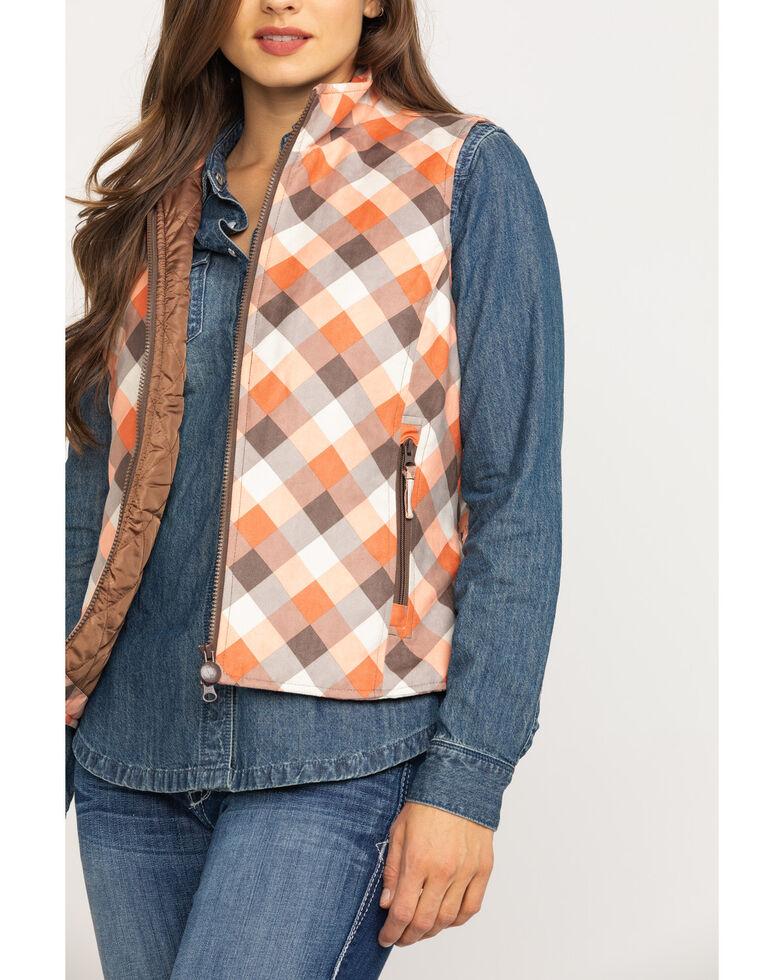 Outback Trading Co. Women's Renmark Vest, Orange, hi-res