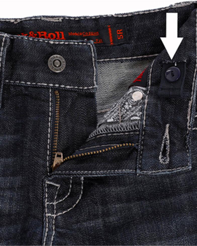51c7938a9 Zoomed Image Rock & Roll Cowboy Boys' Reflex Revolver Dark Vintage Wash  Jeans (4-20