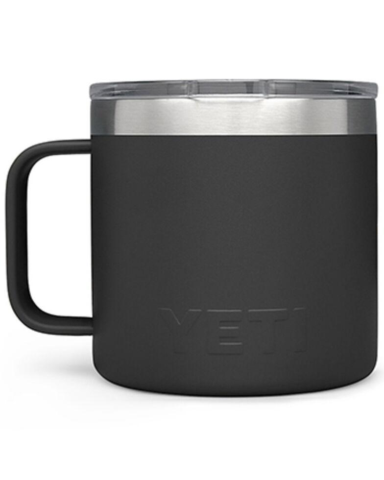 Yeti Rambler 14oz Mug, Black, hi-res