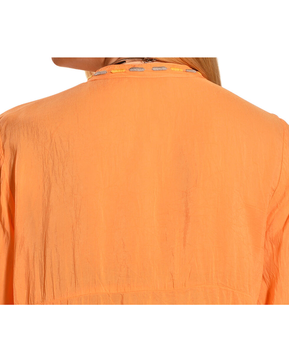 Johnny Was Women's Jezzabelle Tunic, Orange Sun, hi-res