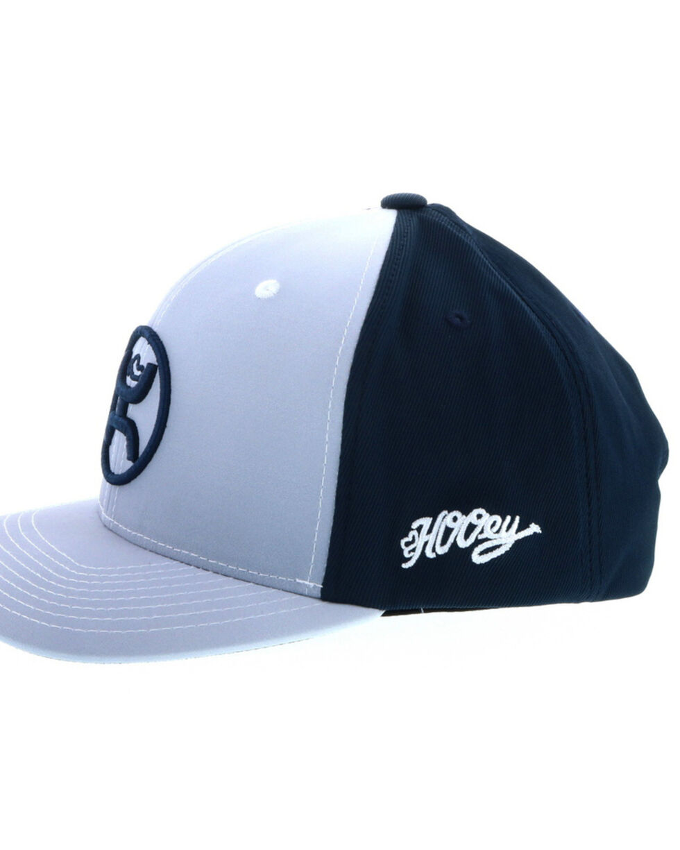 "HOOey Men's ""O"" Fade Ball Cap, Grey, hi-res"
