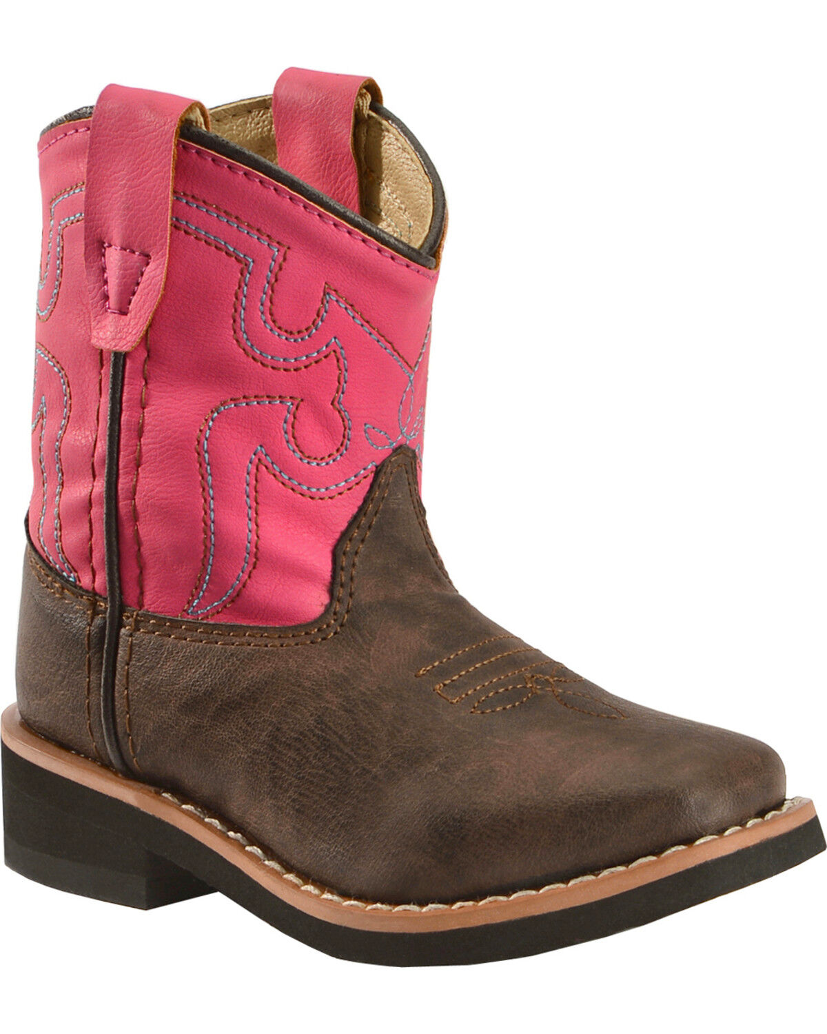 NEW Baby Toddler Girls Cowboy Boots Size 2 4 5 6 Cowgirl Ankle Fringe Western