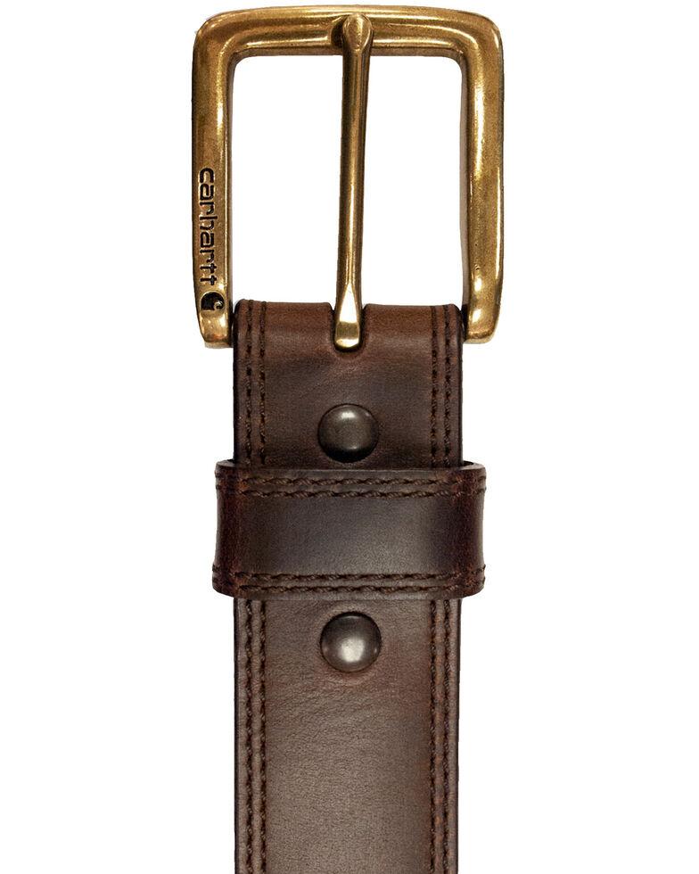 Carhartt Men's Brown Hamilton Work Belt, Brown, hi-res