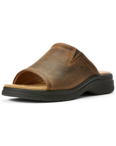 Ariat Women's Bridgeport Sassy Brown Sandals, Brown, hi-res