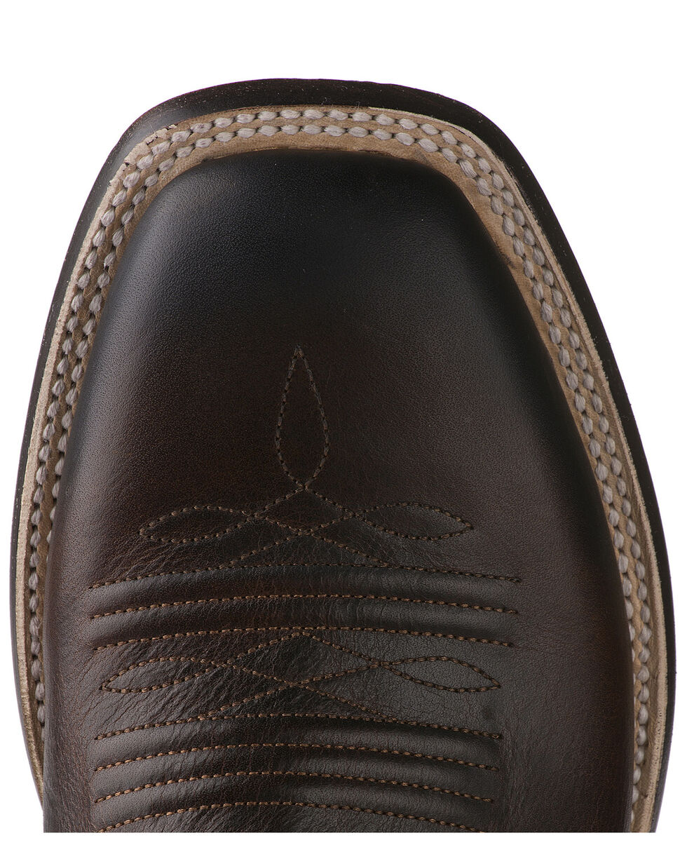 Lane Men's Give It A Shot Western Boots - Square Toe, Brown, hi-res