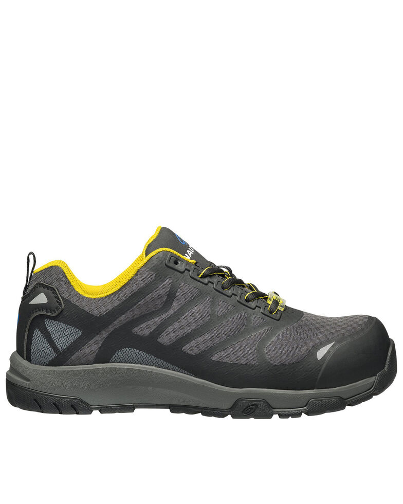 Nautilus Men's Velocity Work Shoes - Composite Toe, Grey, hi-res
