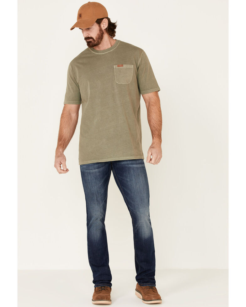 Pendleton Men's Green Deschutes Pocket Short Sleeve T-Shirt , Green, hi-res