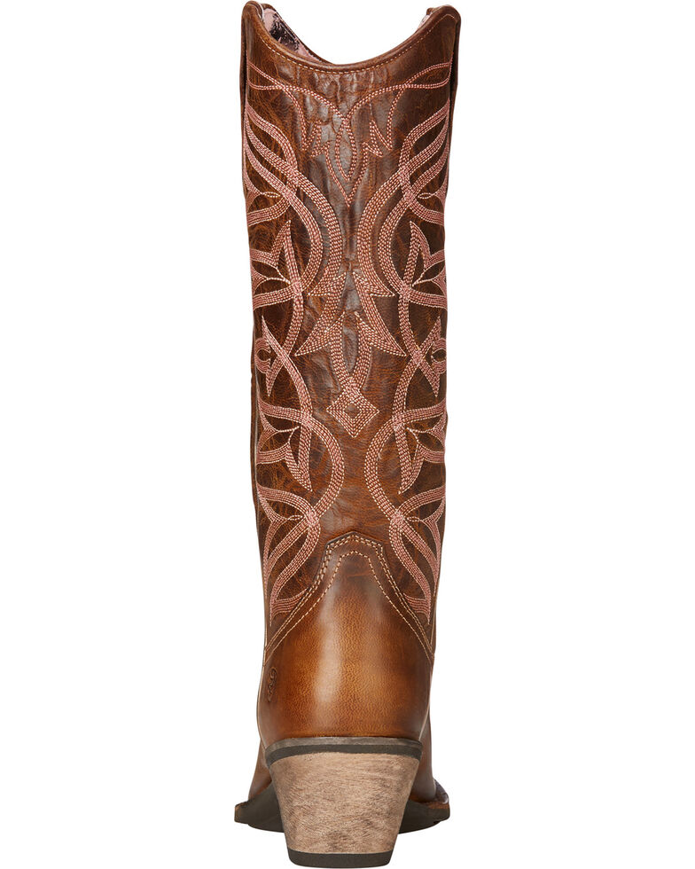 12b33cefa7f Ariat Women's Brown Sheridan Sassy Western Boots - Square Toe