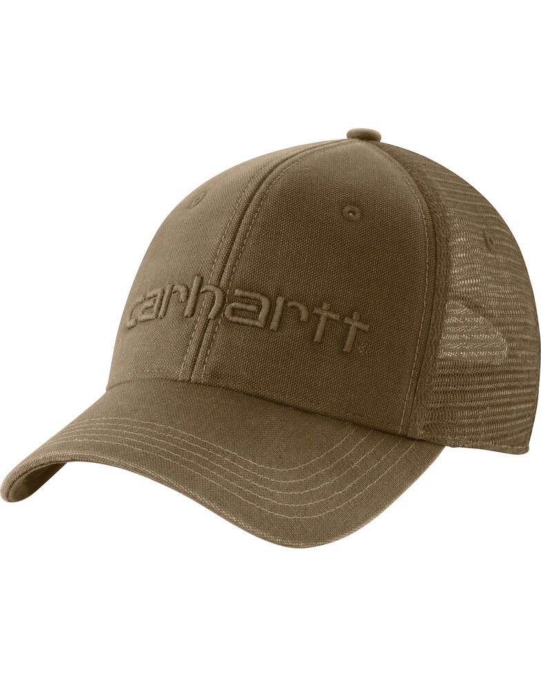 Carhartt Men's Brown Dunmore Cap, Med Brown, hi-res
