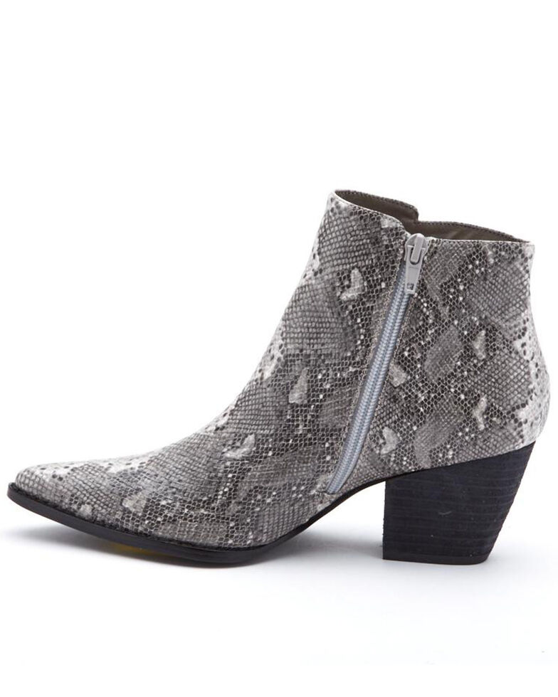 Coconuts by Matisse Women's Astoria Fashion Booties - Round Toe, Grey, hi-res