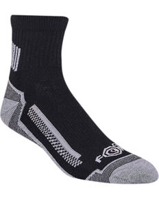 Carhartt Men's 3 Pack Performance Socks, Black, hi-res