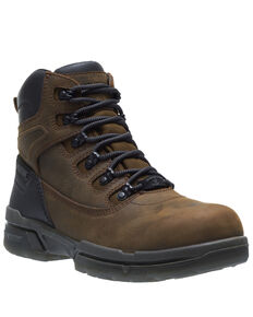 Wolverine Men's I-90 Durashocks Work Boots - Composite Toe, Brown, hi-res