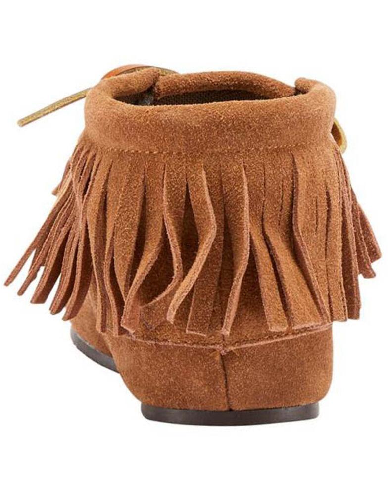 Lamo Footwear Women's Ava Slippers - Moc Toe, Chestnut, hi-res