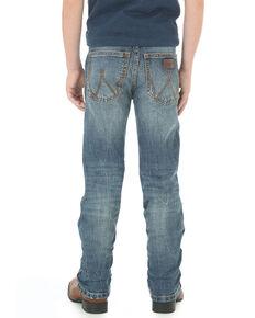 Wrangler Retro Boys' Haywood Slim Straight Jeans , Indigo, hi-res