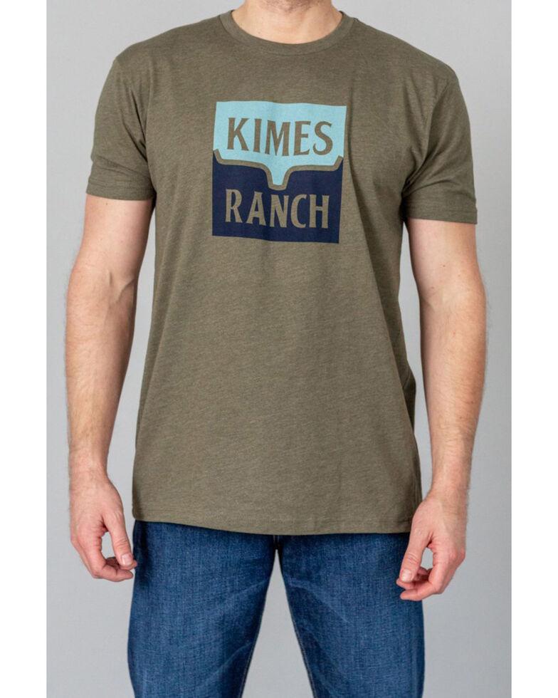 Kimes Ranch Men's Green Explict Warning Graphic T-Shirt , Green, hi-res
