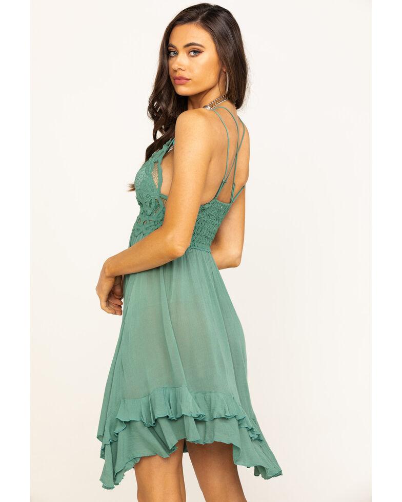 Free People Women's Adella Slip Dress, Sky, hi-res