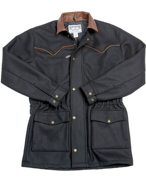 Schaefer Outfitter Men's 220 Wool Big Country Rancher Jacket - 2X, Black, hi-res