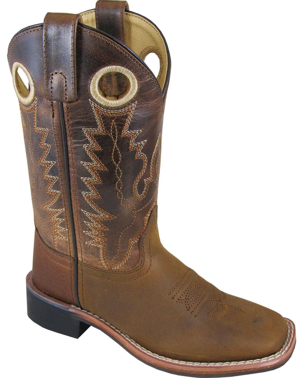 Smoky Mountain Youth Rockin Heart Sq Boots