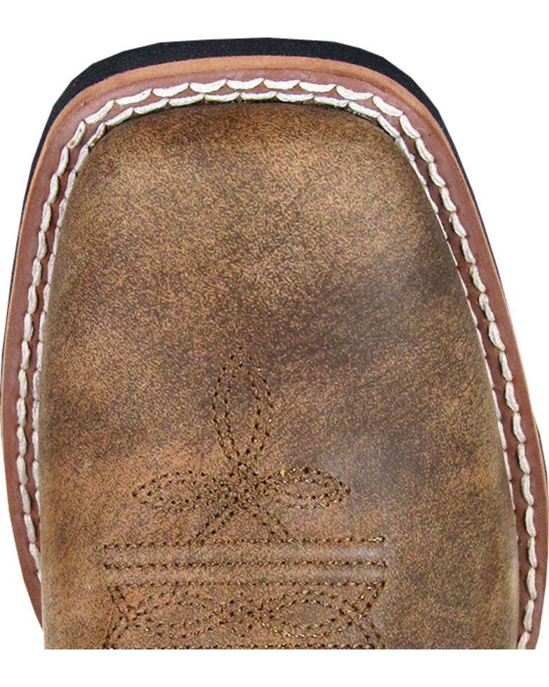 Smoky Mountain Tupelo Camo Cowgirl Boots - Square Toe, Brown, hi-res