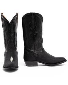 El Dorado Men's Stingray Western Boots - Round Toe , Black, hi-res