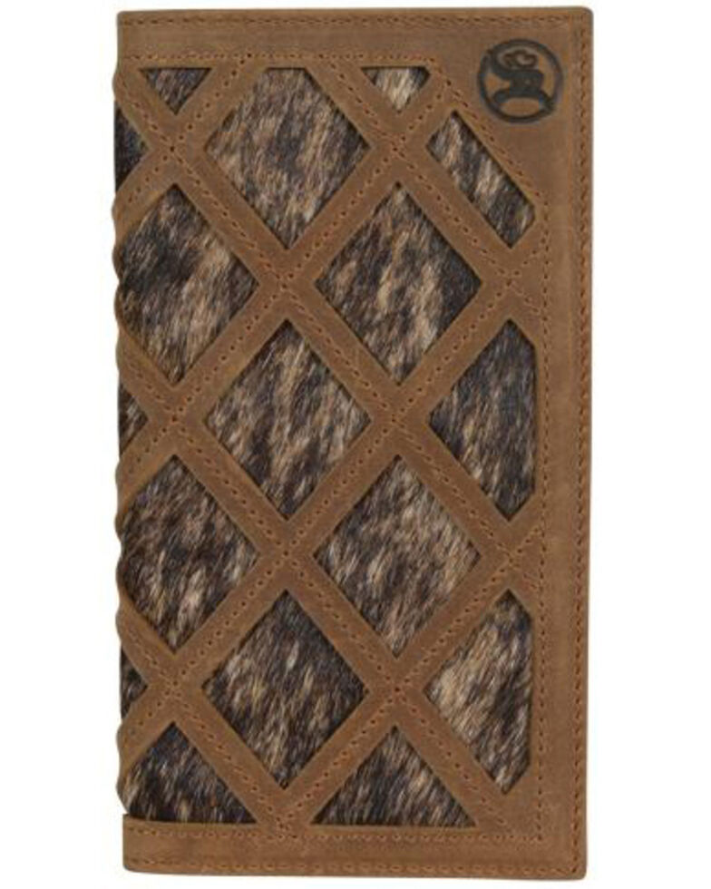 HOOey Men's Roughy Rodeo Wallet, Brown, hi-res