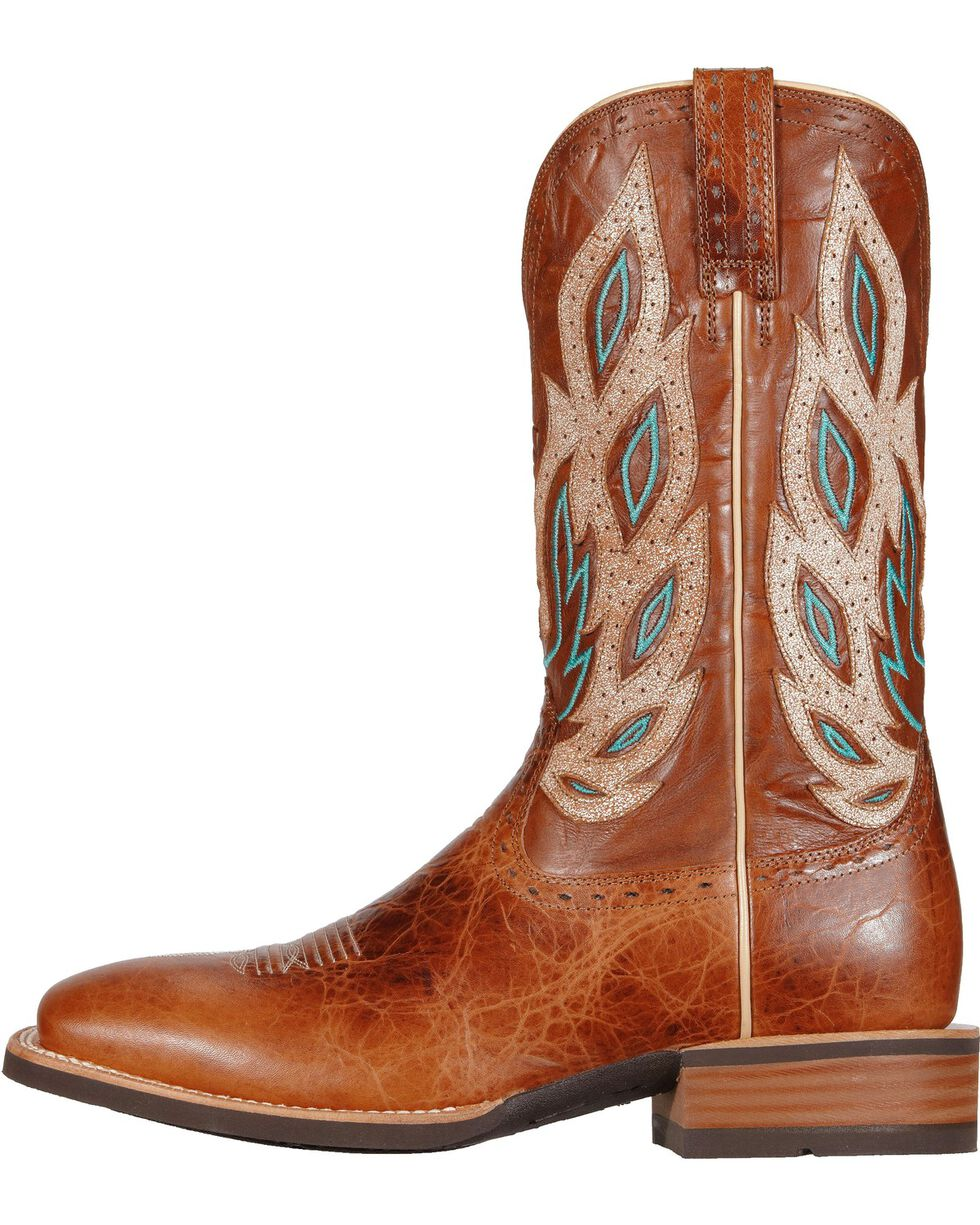 Ariat Men's Nighthawk Western Boots, Brown, hi-res