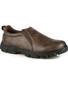 Roper Men's Brown Cotter Casual Slip-On Shoes, Brown, hi-res