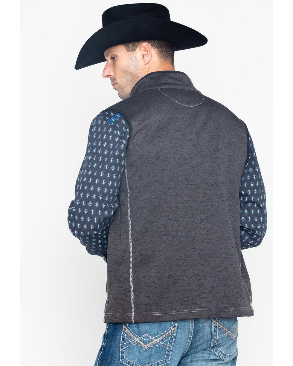Cowboy Hardware Men's Simple Speckle Vest , Charcoal, hi-res