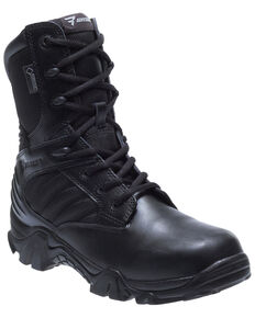 Bates Women's GX-8 Side Zip Work Boots - Soft Toe, Black, hi-res