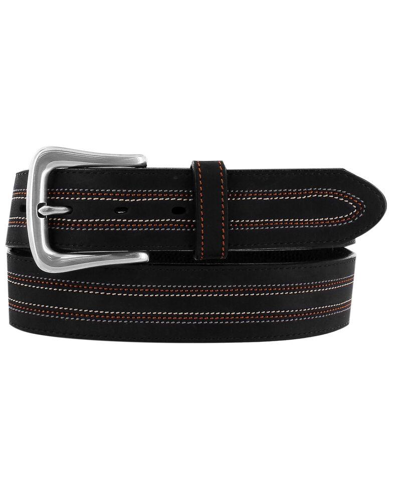 Leegin Men's Black Americana Belt, Black, hi-res