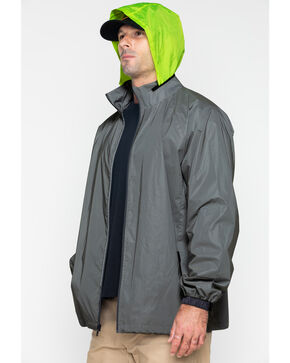 Hawx Men's Reflective Work Jacket , Silver, hi-res
