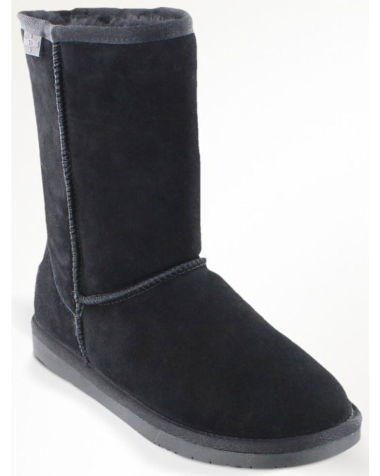 Minnetonka Women's Olympia Boots, Black, hi-res