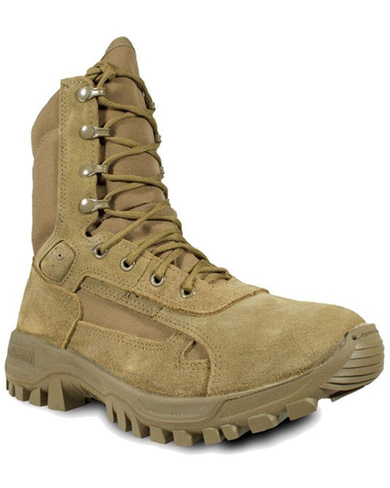 McRae Men's Terassault T1 Hot Weather Combat Boots - Soft Toe, Coyote, hi-res