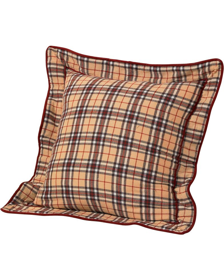 HiEnd Accents Wrangler Reversible Euro Pillow Sham, Multi, hi-res