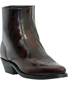 Laredo Men's Long Haul Western Boots, Black Cherry, hi-res