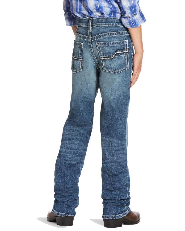 Ariat Boys' B5 Snakebite Slim Straight Jeans , Indigo, hi-res
