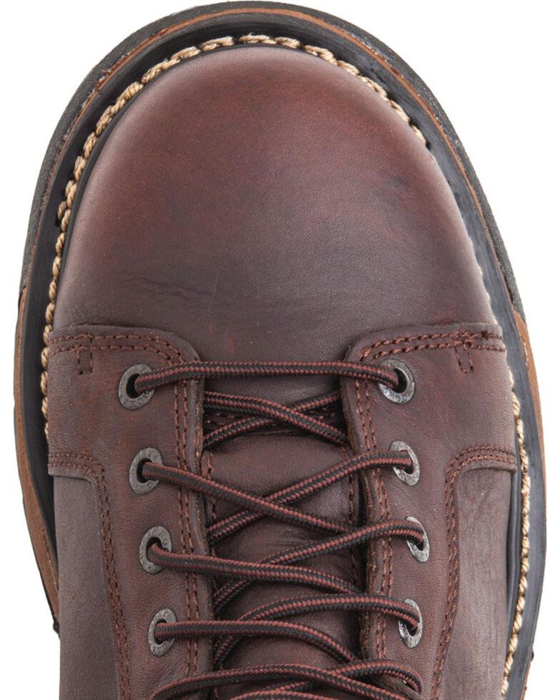 Rocky Men's IronClad Waterproof Work Boots, Copper, hi-res
