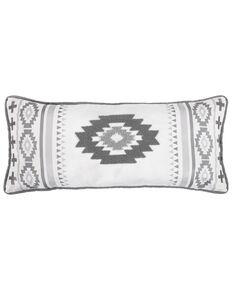 HiEnd Accents Free Spirit Lumbar Pillow, Grey, hi-res
