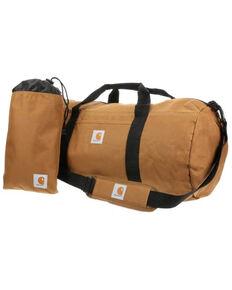 Carhartt Brown Trade Medium Utility Pouch Work Duffel Bag , Brown, hi-res