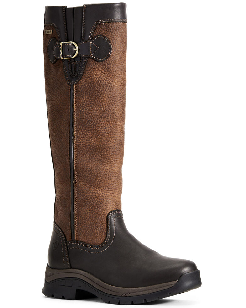 Ariat Women's Belford GTX Western Boots - Round Toe, Brown, hi-res