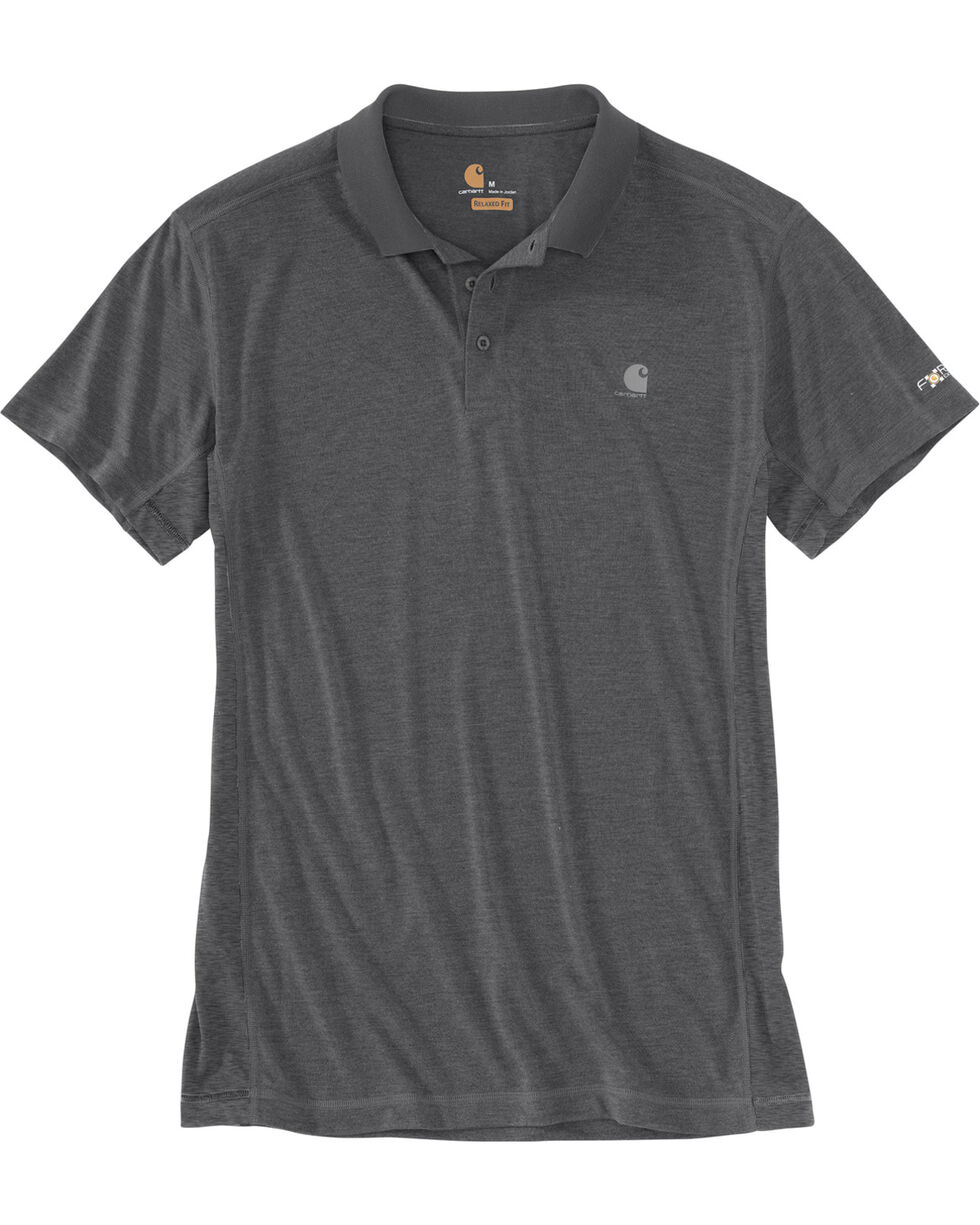 Carhartt Men's Grey Force Extremes Polo , Grey, hi-res