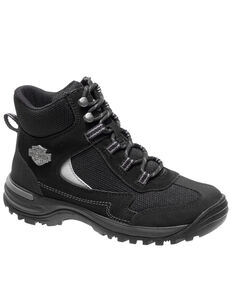 Harley Davidson Women's Waites Work Boots - Composite Toe, Black, hi-res