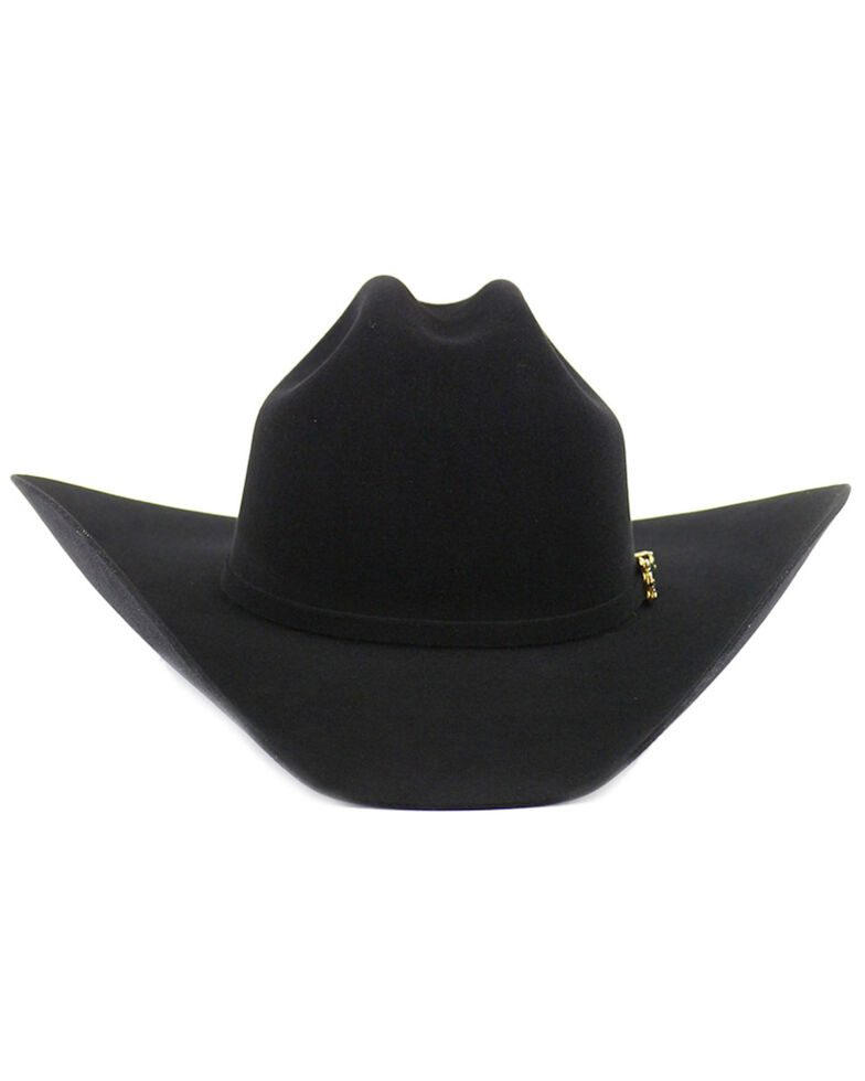 Cody James® Men's 10X Felt Cowboy Hat, Black, hi-res
