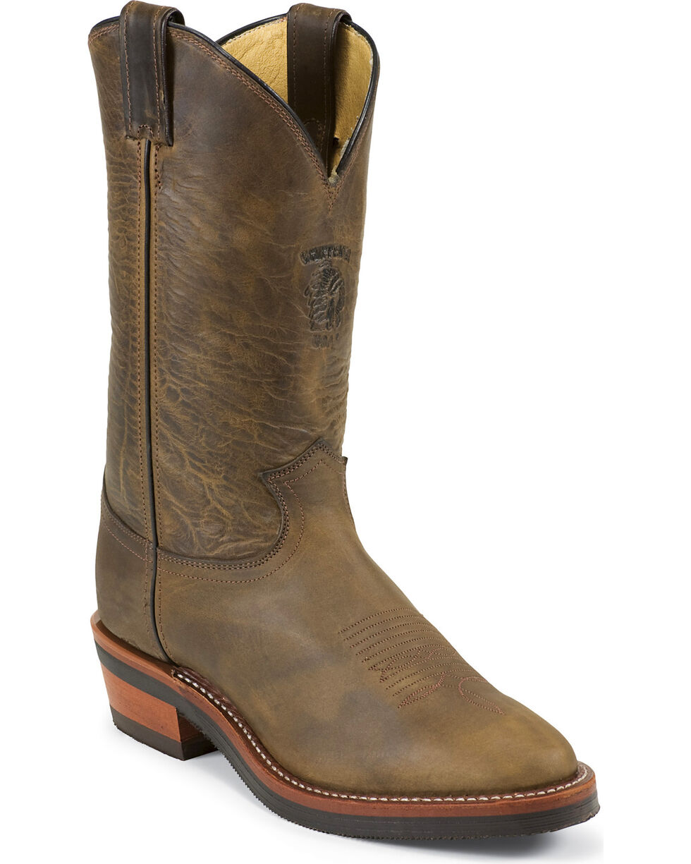 Chippewa Men's Arroyos Western Work Boots, Bay Apache, hi-res