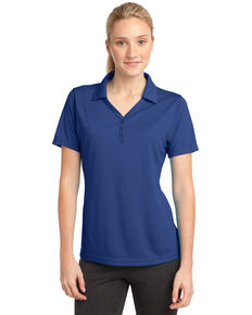 Sport-Tek Women's True Royal PosiCharge Micro-Mesh Polo , Royal Blue, hi-res