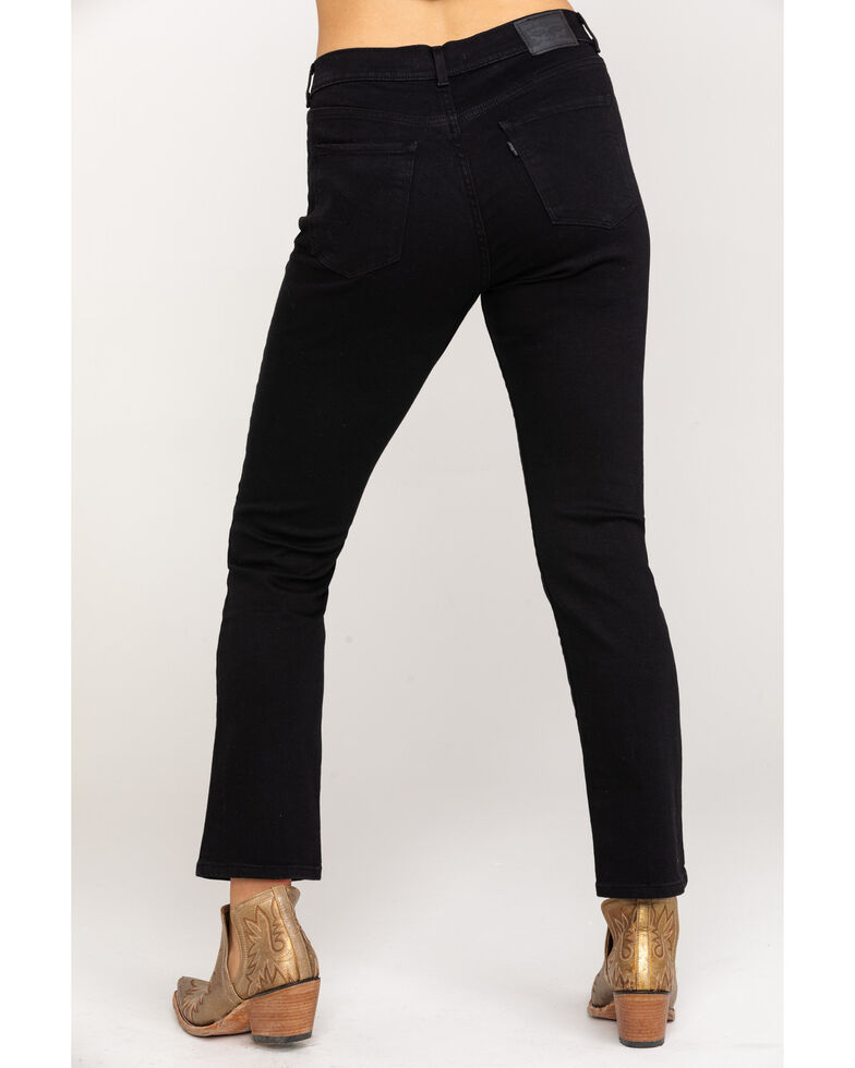 Levi's Women's Classic Straight Fit Jeans, Black, hi-res