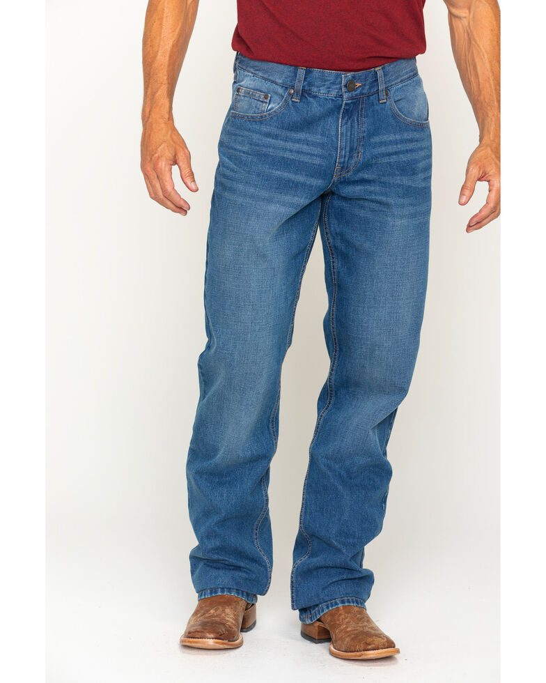 Gibson Men's Laramie Prewashed Regular Fit Denim Jeans , Indigo, hi-res